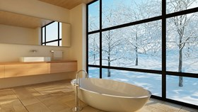 How To Warm Up A Cold Bathroom