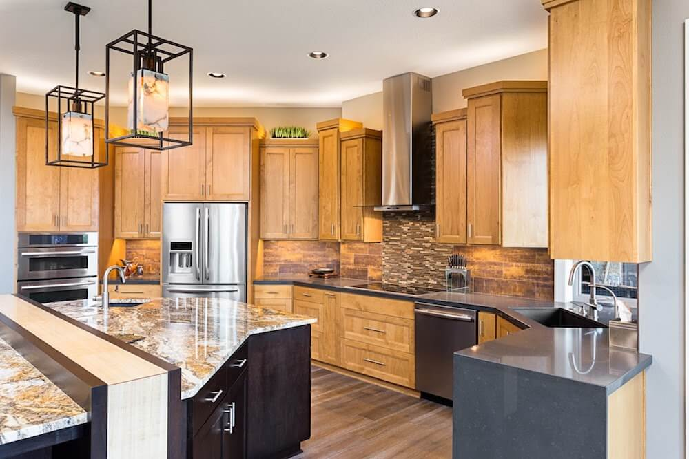 2017 cabinet refacing costs kitchen cabinet refacing cost for Wood kitchen cabinets prices