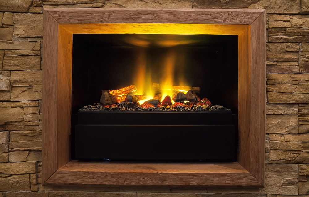 The Differences Between An Electric Amp Wood Burning Fireplace