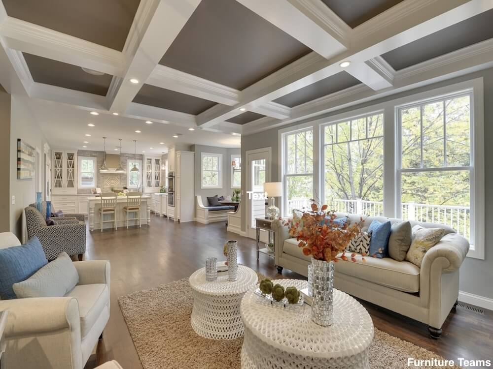 2021 Drywall Ceiling Cost Drop Ceiling Cost Coffered