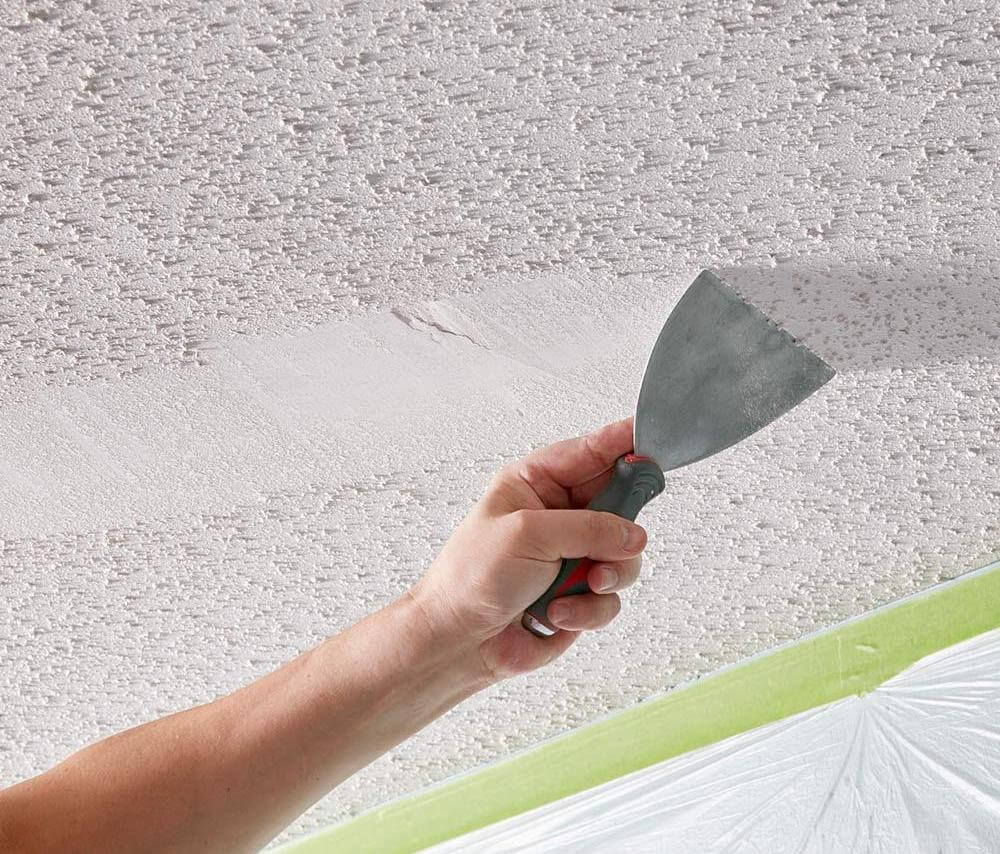 2018 Cost To Remove Popcorn Ceiling