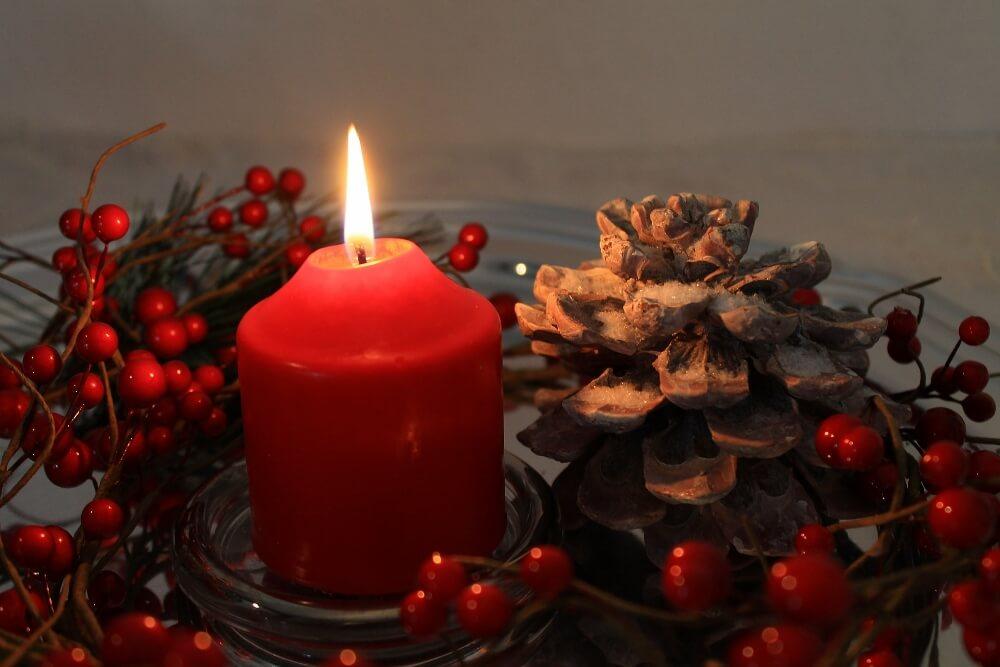 Holiday Candles Hazard