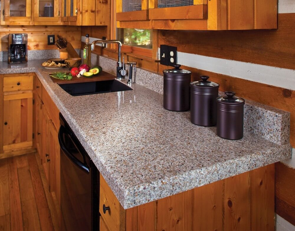 2018 acrylic countertops cost resin countertops for Types of kitchen countertops and prices