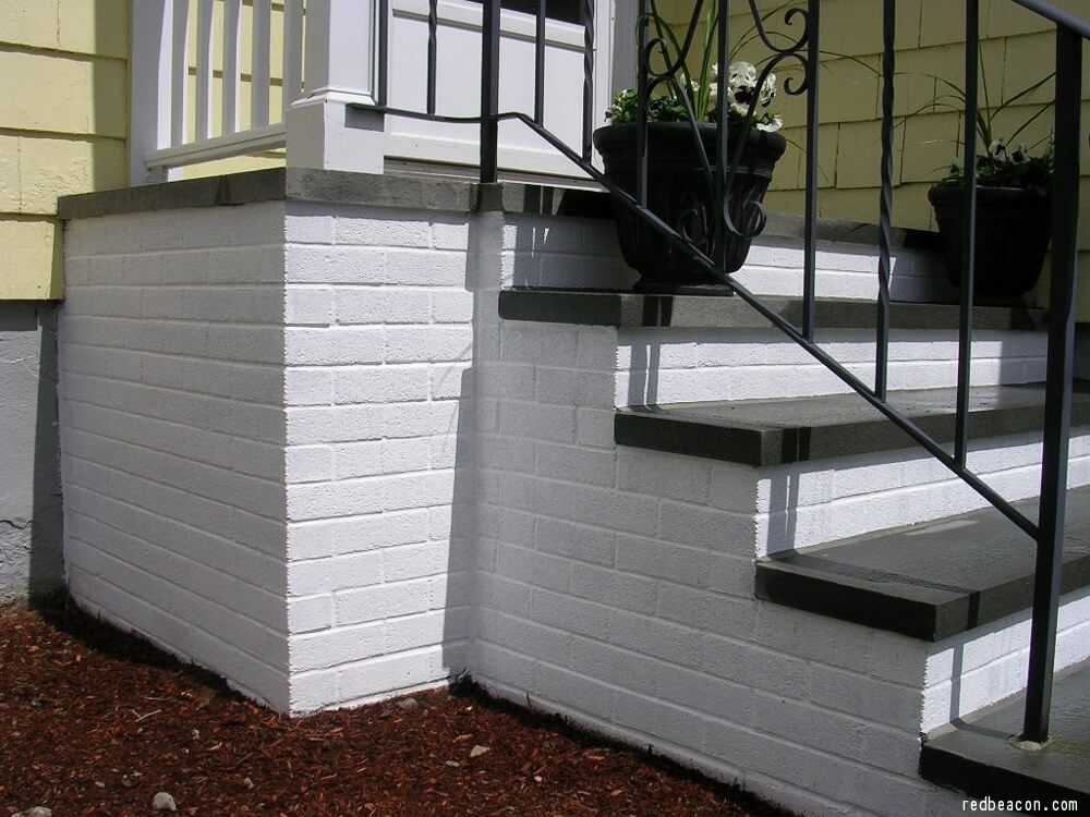 How To Paint Concrete Steps