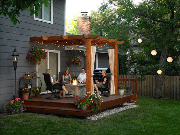 Pergola - 5 Back Porch Ideas & Designs For Small Homes