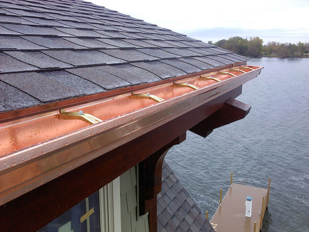 2019 Seamless Gutters Price Per Foot Cost Of Seamless