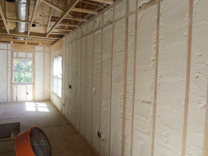 2018 Cost Of Spray Foam Insulation Insulation Installation
