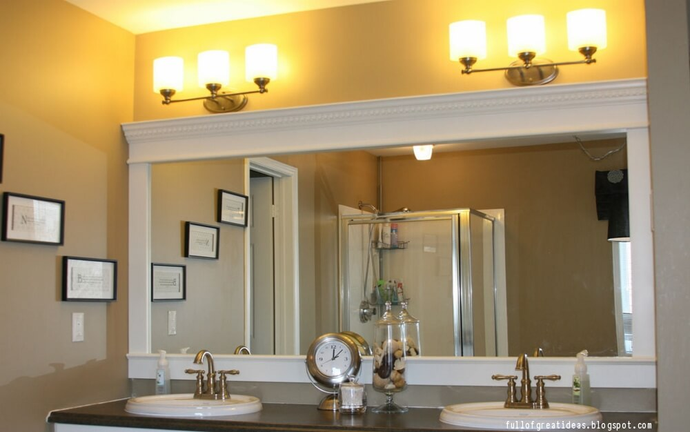 Where To Install Crown Molding In Your Home - Bathroom crown molding