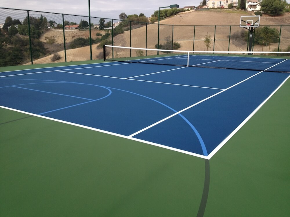 2018 tennis court cost cost to resurface a tennis court for Cost to build basketball court