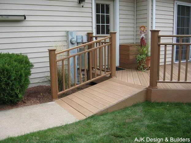 How to build a handicap ramp handicap ramp slope challenging diy project handicap ramp solutioingenieria Image collections