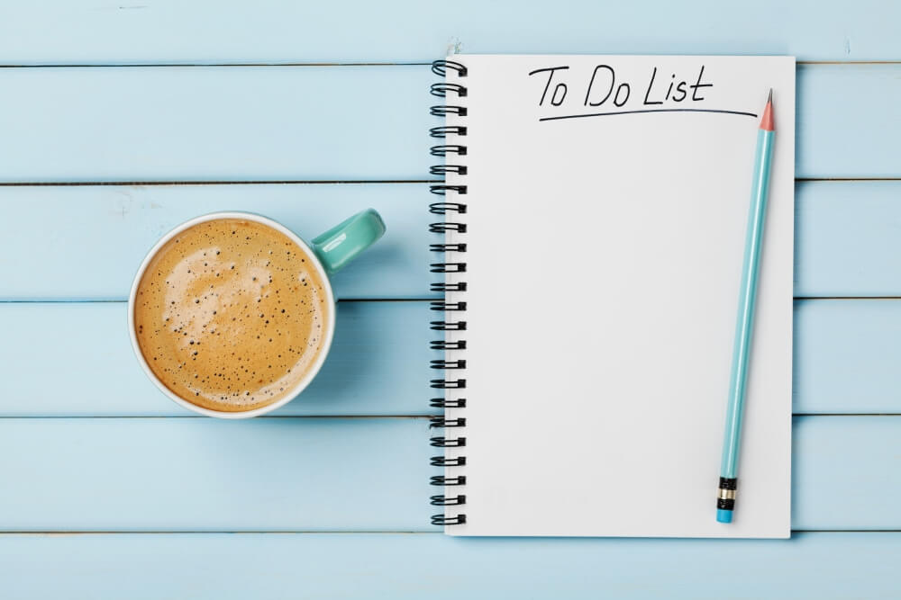 March To-Do List
