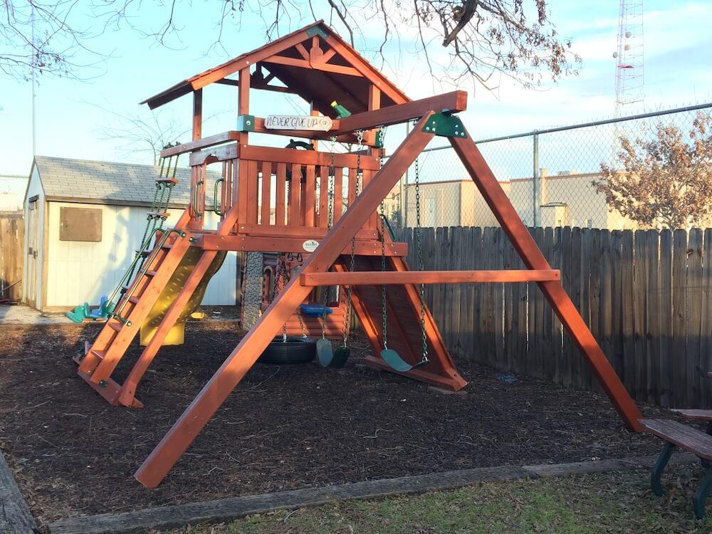 2019 Swing Set Playground Installation Cost