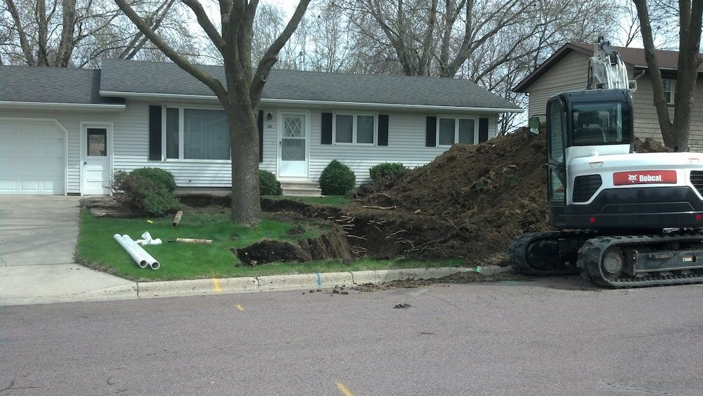 sewer hookup cost indianapolis