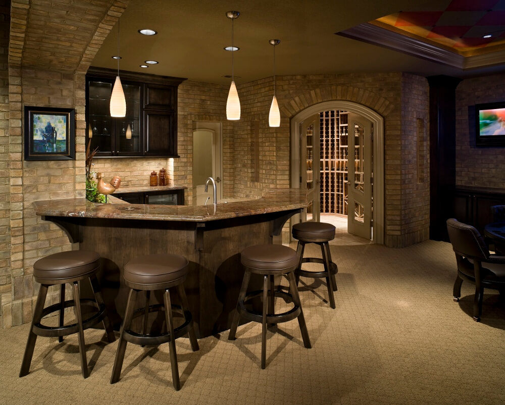 2018 remodeling trends home remodeling basement remodel for Luxury basements