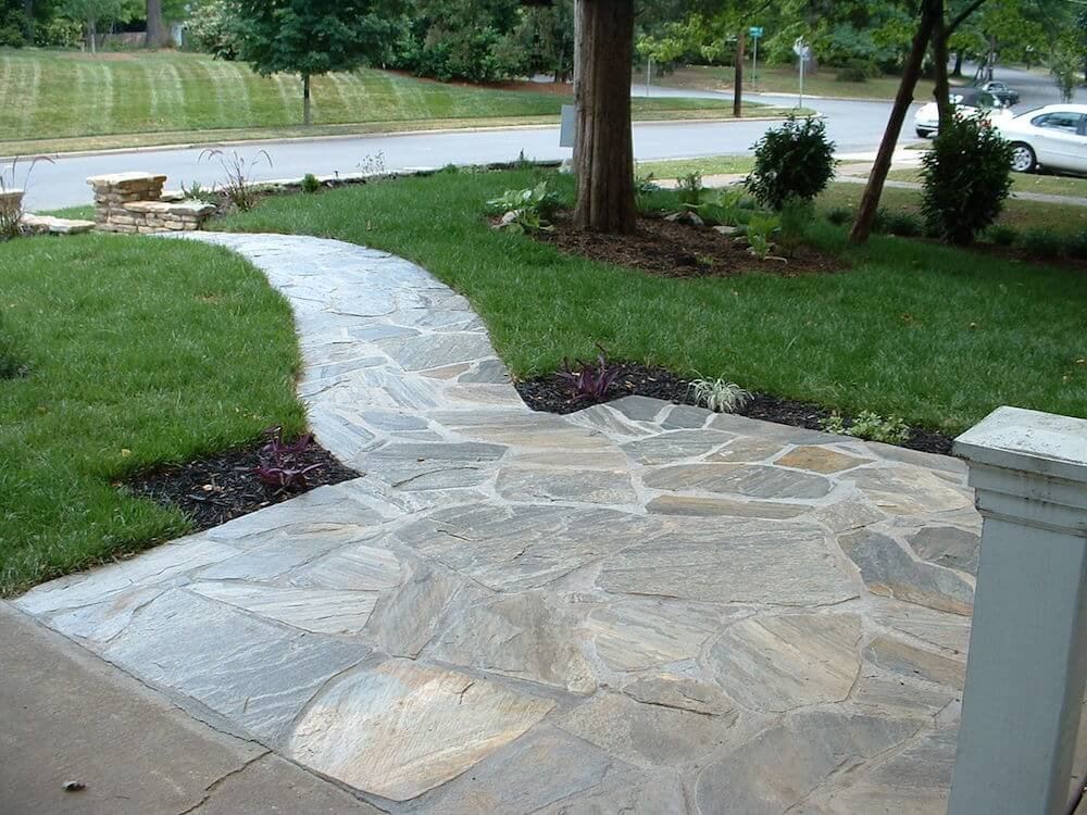 Flag Stone Walkway Photo Albums Catchy Homes Interior