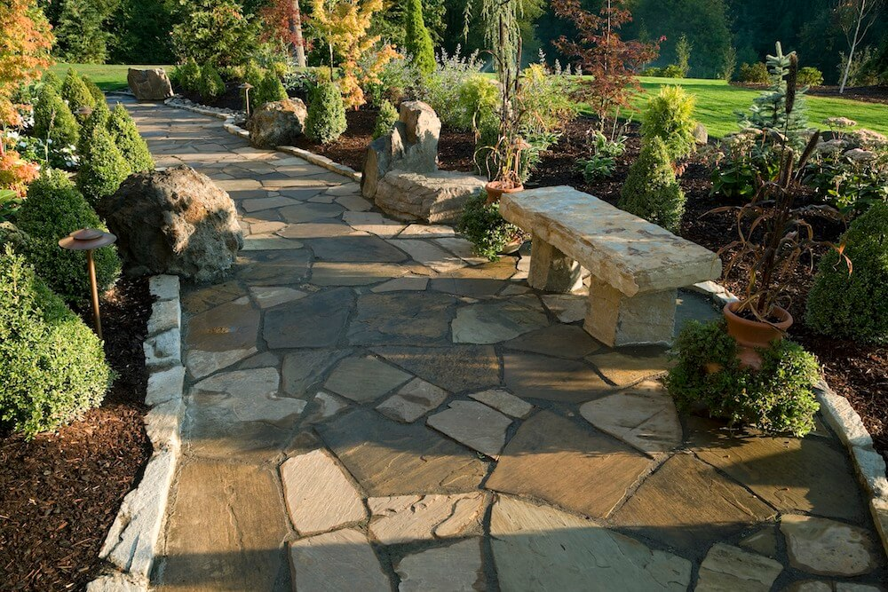 create ways patio on stamped cost about ideas your vs flagstone concrete pinterest marvelous for to resort t fantastic