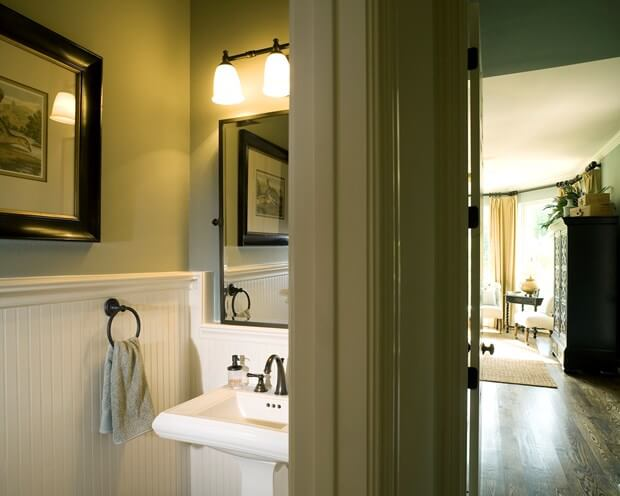 10 Color Ideas & Painting Tips To Make Your Small Bathroom Seem Larger