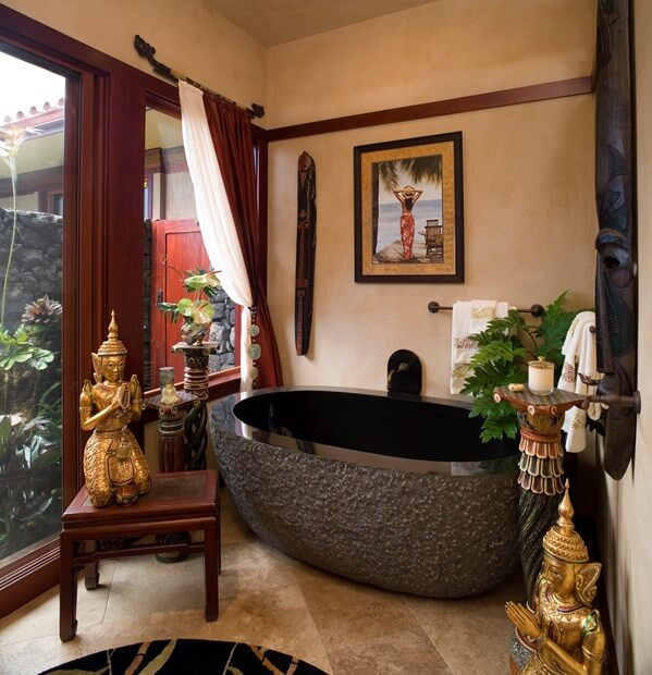 Lovely 10 Tips To Create An Asian Inspired Bathroom Photo