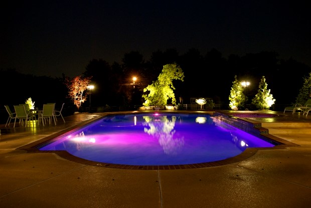 Swimming Pool Lighting Ideas Lights