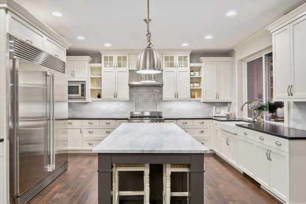 2018 Kitchen Cabinet & Countertop Trends | Kitchen Trends on jade countertops, decorative tile countertops, lumber countertops, kitchen lighting, silestone countertops, architectural glass countertops, computer work stations countertops, renovating kitchen countertops, kitchen concrete countertops, plywood countertops, stylish kitchen countertops, wood kitchen countertops, home countertops, kitchen countertops and backsplashes, kitchen countertop materials, kitchen table countertops, organized kitchen countertops, quartz countertops, granite countertops, complete kitchen countertops,