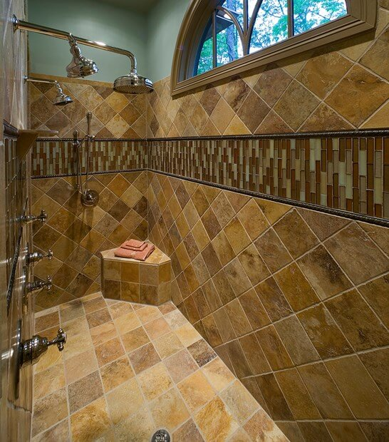 6 Bathroom Shower Tile Ideas | Tile Shower | Bathroom Tile