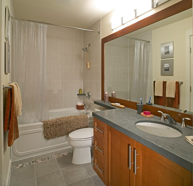 6 diy bathroom remodel ideas diy bathroom renovation for Bath remodel green bay