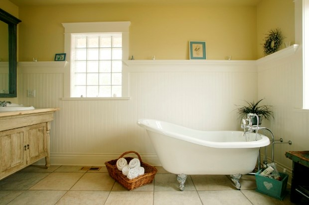 selecting the best paint for bathroom walls - Bathroom Paint Ideas