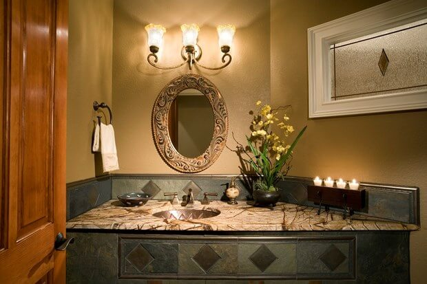 Stunning Bathroom Backsplash Ideas Bathroom Remodel