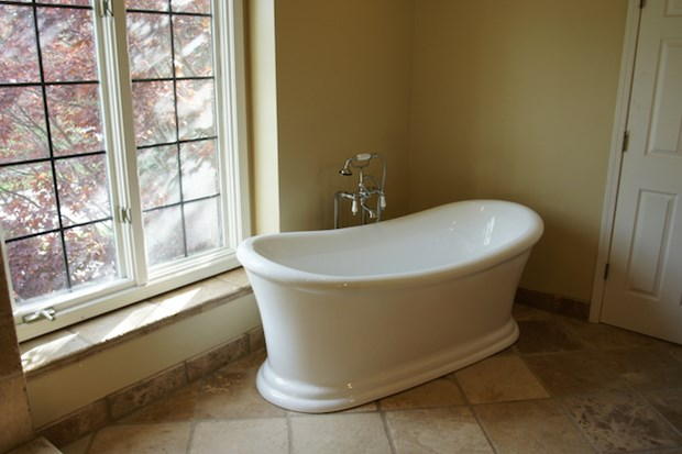 Etonnant How To Add A Shower To A Freestanding Tub