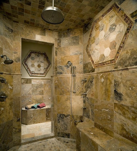 11 Shower Heads For Your Master Bathroom | Rainfall Shower Head