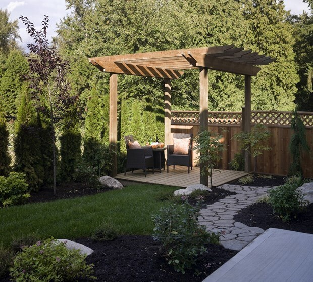 Pergola Small Yard: Change The Look Of Your Yard With An Arbor Or Pergola