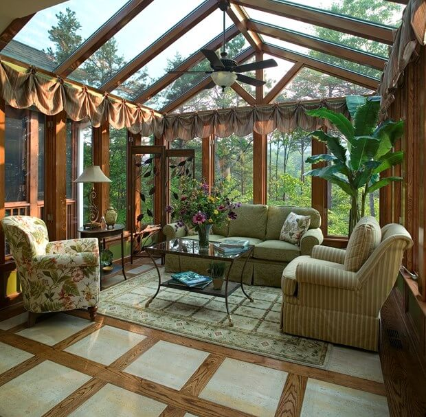 Diy tips for sunroom additions how to build a sunroom for Building a sunroom addition