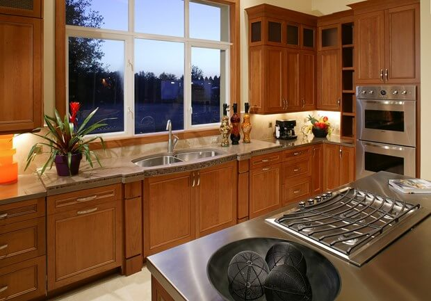 improving your kitchen cabinets with paint - Kitchen Spraying