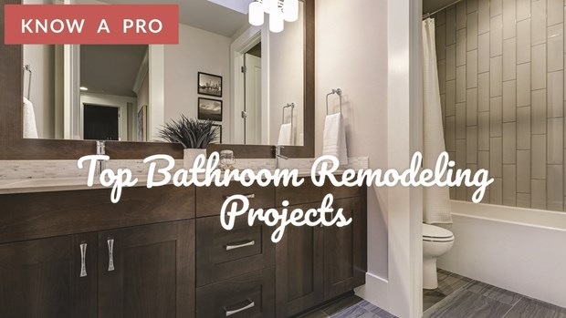 Video Top Bathroom Remodeling Projects Bathroom Remodeling Tips
