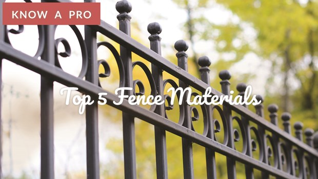 Video: Top 5 Fence Materials |