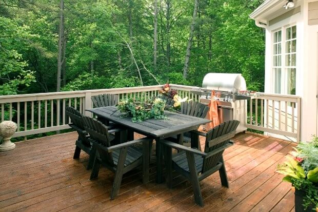 Backyard Deck Ideas Deck Installation Backyard Decks