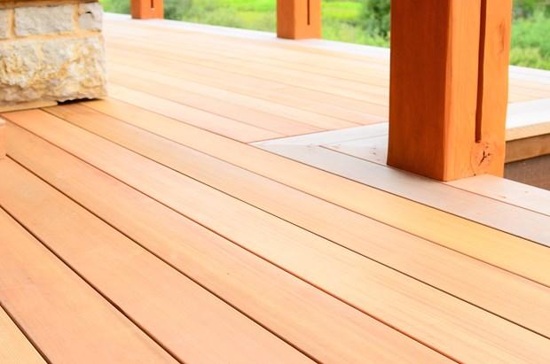 Cedar Decking Costs Benefits