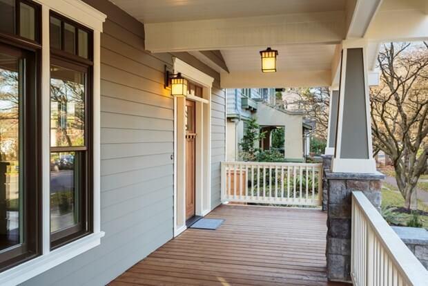 Front Porch Decorating Ideas, Front Porch Flooring Ideas