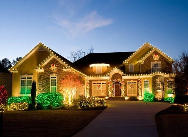 how to install holiday lights - Install Christmas Lights