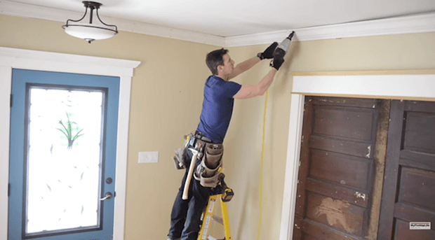 How To Install Crown Molding Video Install Trim