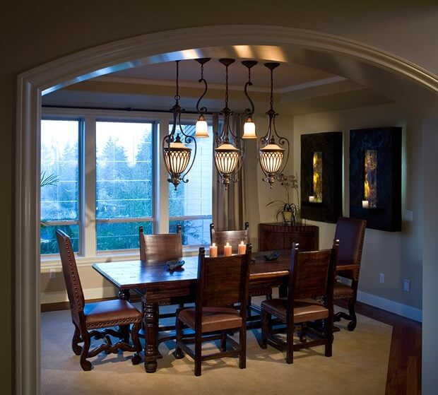 How To Choose Lighting Fixtures For Your Dining Room And Foyer