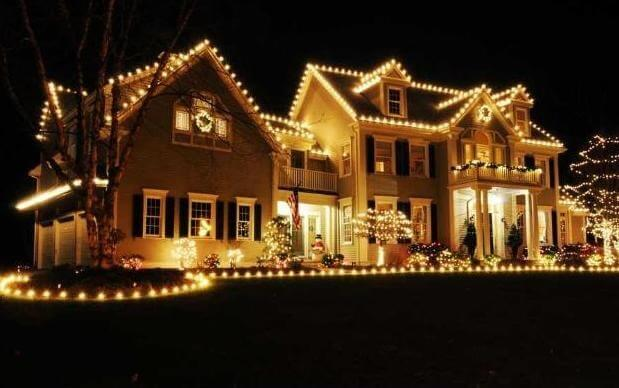 10 last minute holiday decoration ideas - Christmas Light Home Decorating Ideas