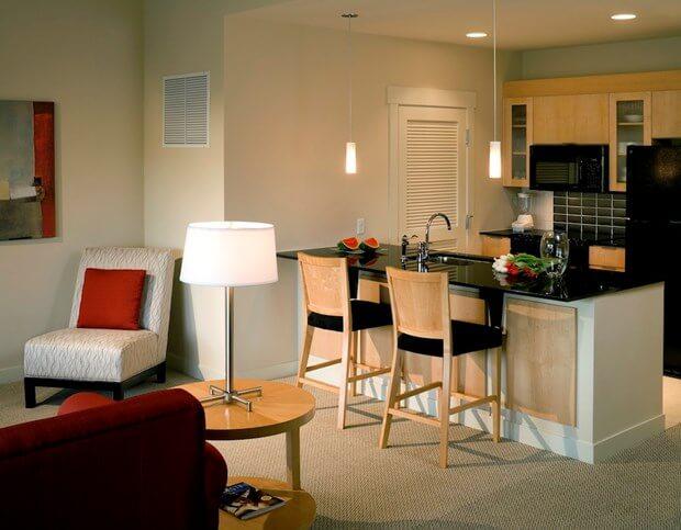 Small kitchen design kitchen design ideas minimalism - Minimalist kitchen design for small space ...
