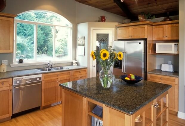 How To Decorate A Kitchen Counter Kitchen Countertops