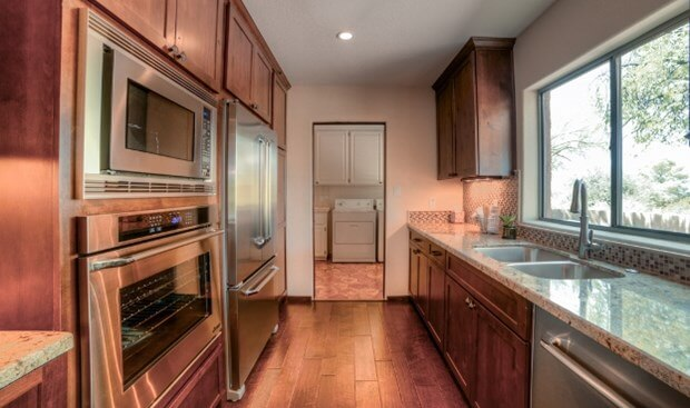 Making The Most Of A Galley Kitchen