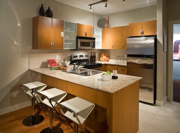 48 Small Kitchen Designs You Should Copy Kitchen Remodel Awesome Small Kitchen Remodel Before And After Design