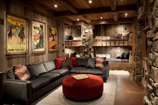 Brilliant A Gentlemans Guide To Styling A Man Cave Ibusinesslaw Wood Chair Design Ideas Ibusinesslaworg