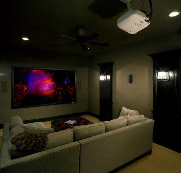 78 Modern Home Theater Design Ideas 2017: The Latest Audio Visual Equipment For Your Home Theater
