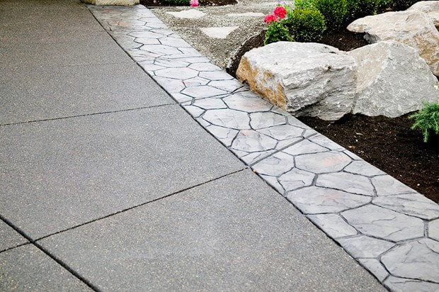 Exposed Aggregate Concrete Overlay U0026 Patio