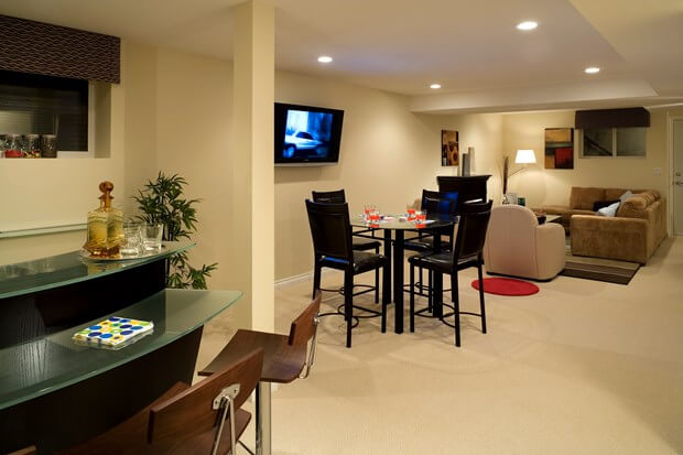Basement Remodeling Costs Basement Finishing Cost Fascinating Average Cost Basement Remodel Set Property
